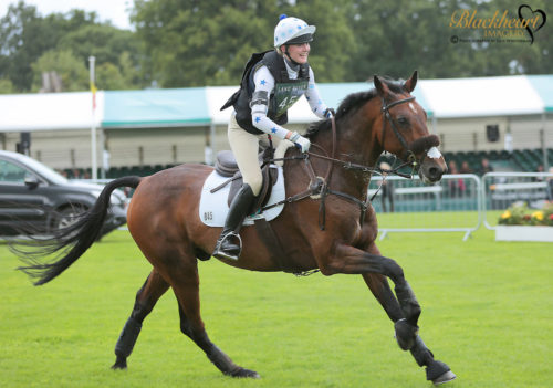 Abi Boulton Eventer feeds Tilson Tic Toc STORM