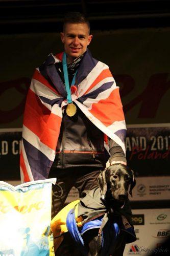 Ben Robinson Canicross Win