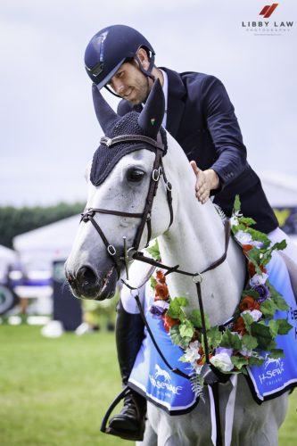 NZ Event Rider Clarke Johnstone
